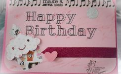 Birthday Cards with Cricut Using writing tool