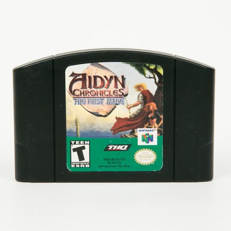 Aiden Chronicles Black Cart N64
