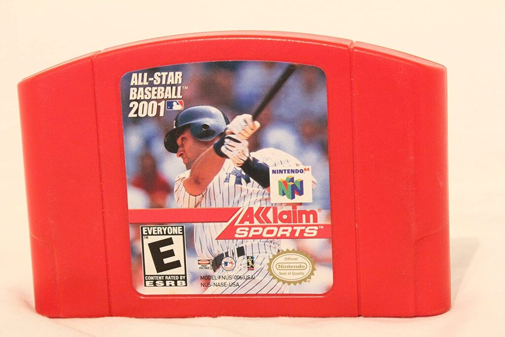 All-Star Baseball 2001 Red Cart