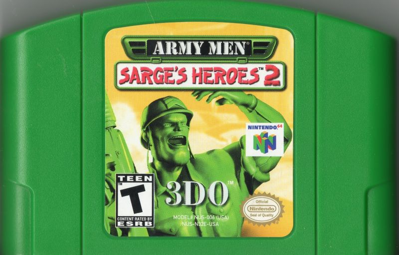Army Men: Sarge's Heroes 2 Green Cart