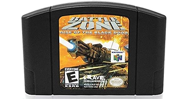 Battlezone: Rise of the Black Dogs N64
