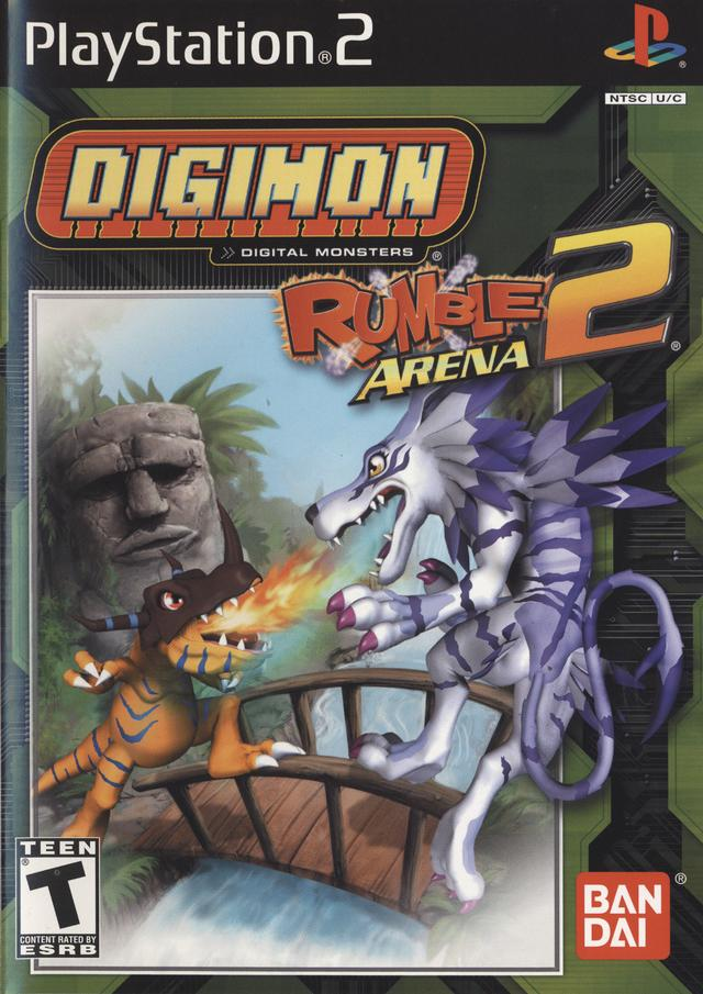 Digimon Rumble Arena 2 Box PlayStation 2