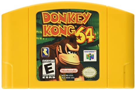 Donkey Kong 64 Cartridge