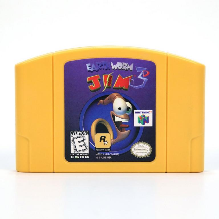 Earthworm Jim 3D N64
