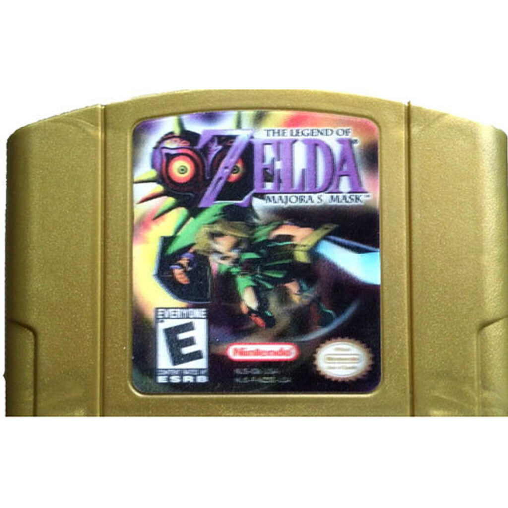 Legend of Zelda: Majora's Mask N64 Hologram
