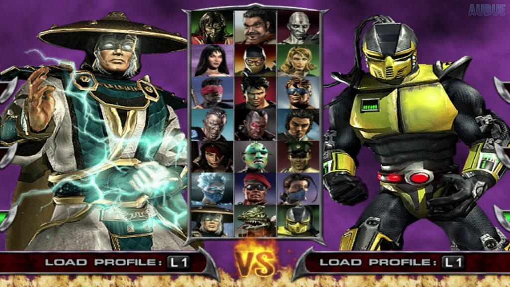 MK Deadly Alliance Character Select
