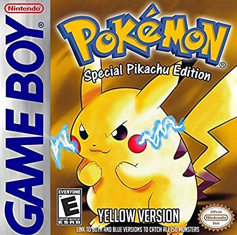 Pokemon Yellow Version Box