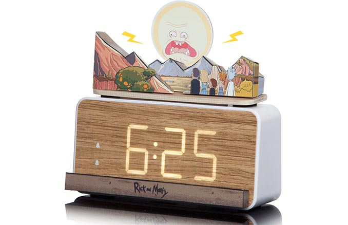 Rick and Morty Screaming Alarm Clock