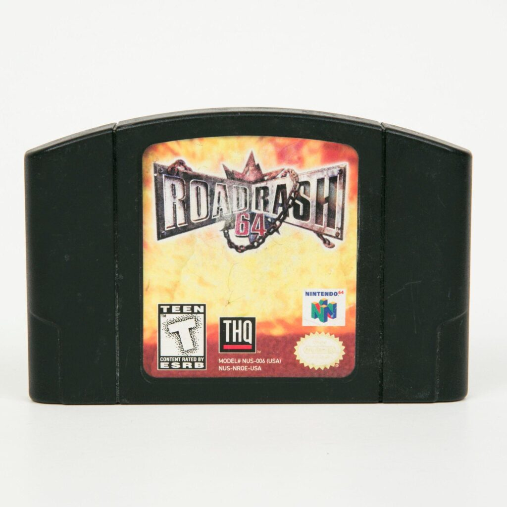 Road Rash 64 Black Cart