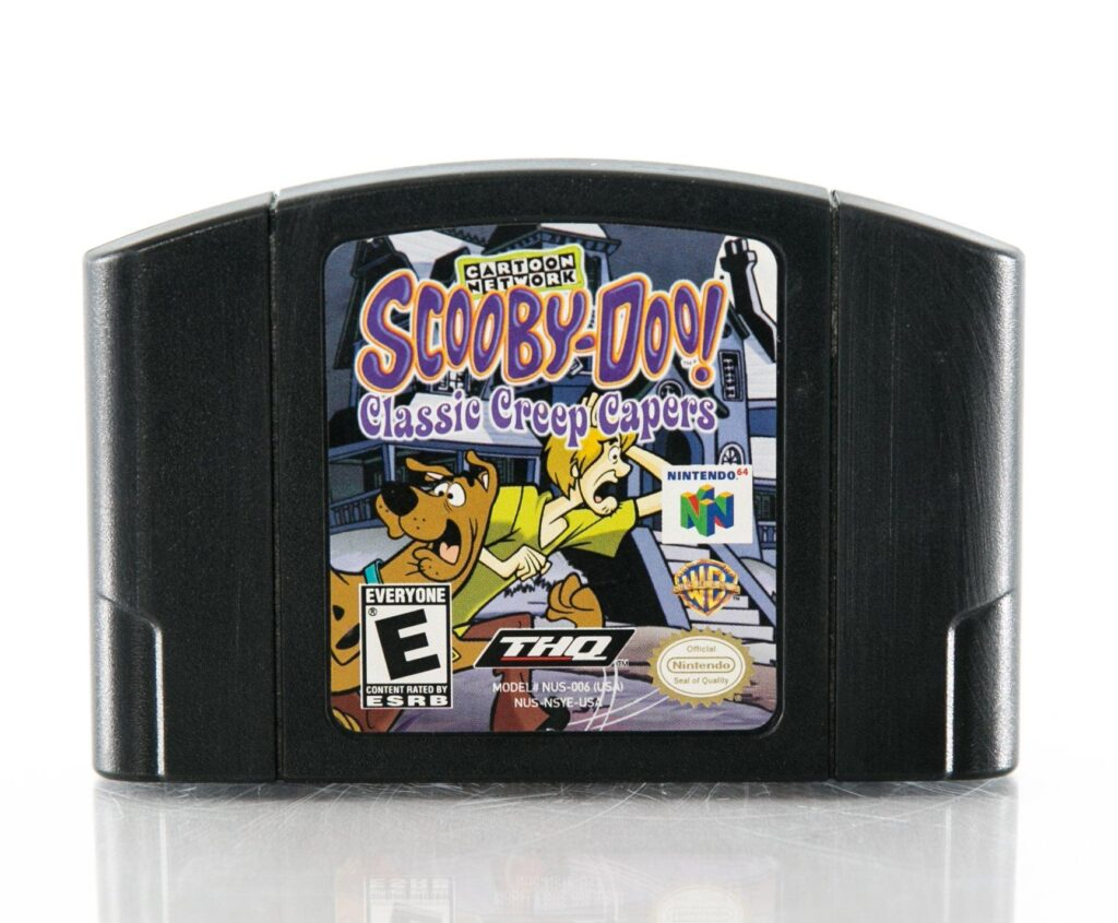 Scooby Doo! Classic Creep Capers N64