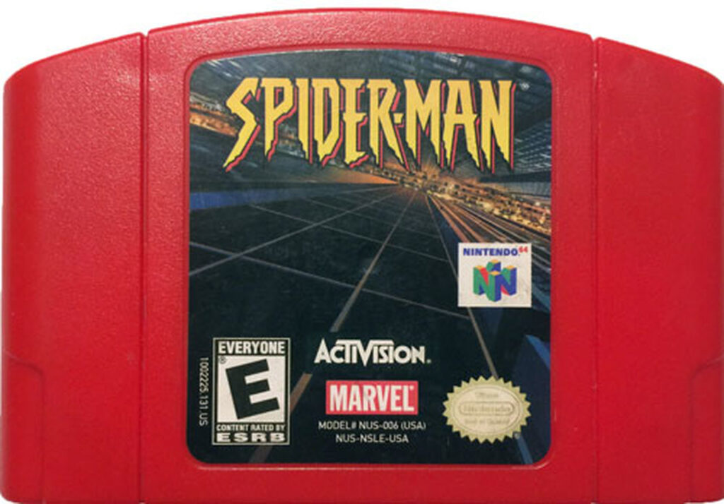 Spider-Man 64 Red Cart