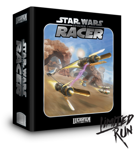 Star Wars Episode I Racer Limited Run Games