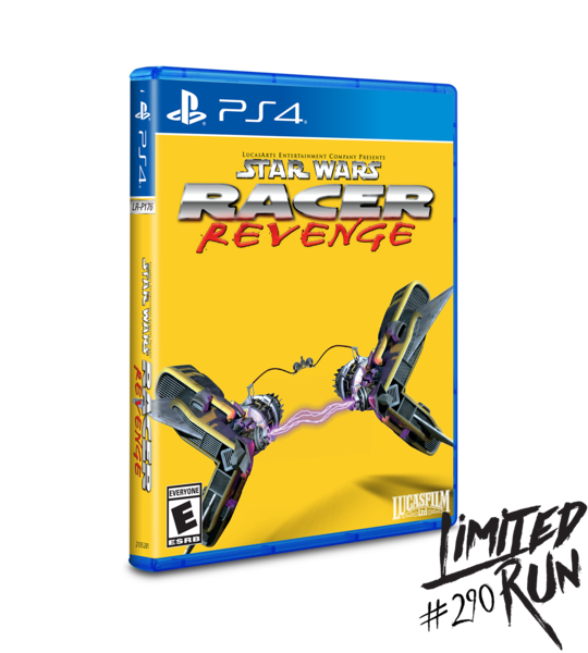Star Wars Racer Revenge Limited Run Games