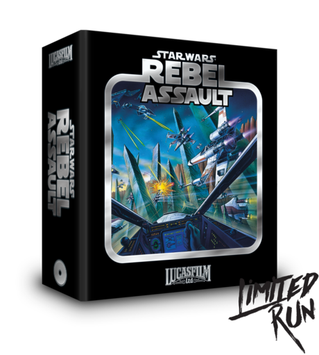 Star Wars: Rebel Assault Limited Run Games