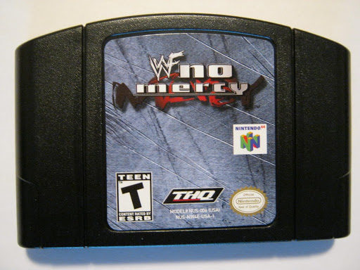 WWF No Mercy N64