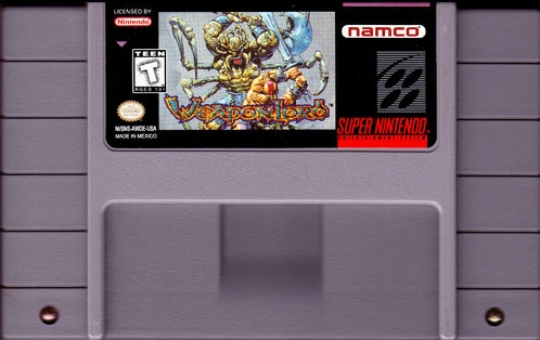 Weaponlord SNES