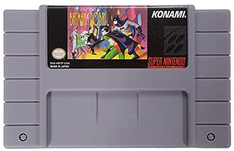Adventures of Batman and Robin SNES Cart