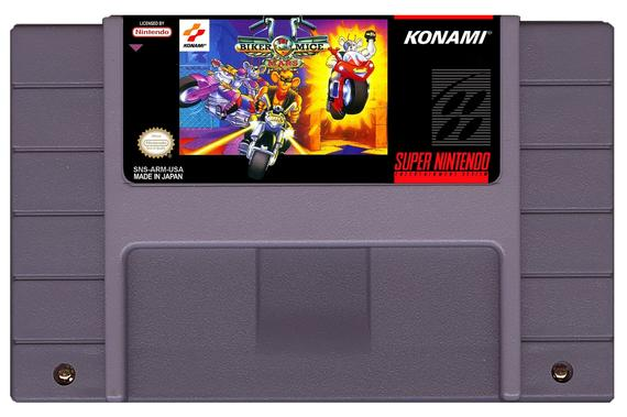 Biker Mice from Mars SNES Cart
