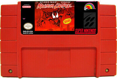 Spider-Man and Venom: Maximum Carnage Red Cart