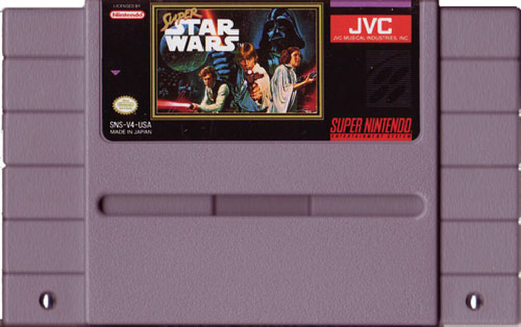 Super Star Wars SNES Cart