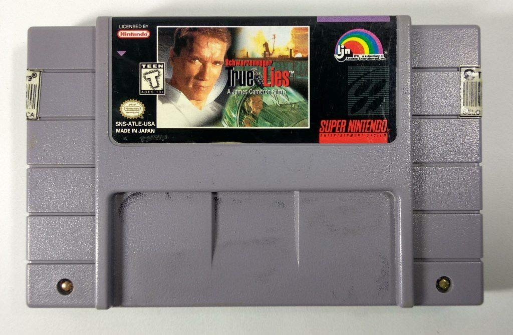 True Lies SNES Cart