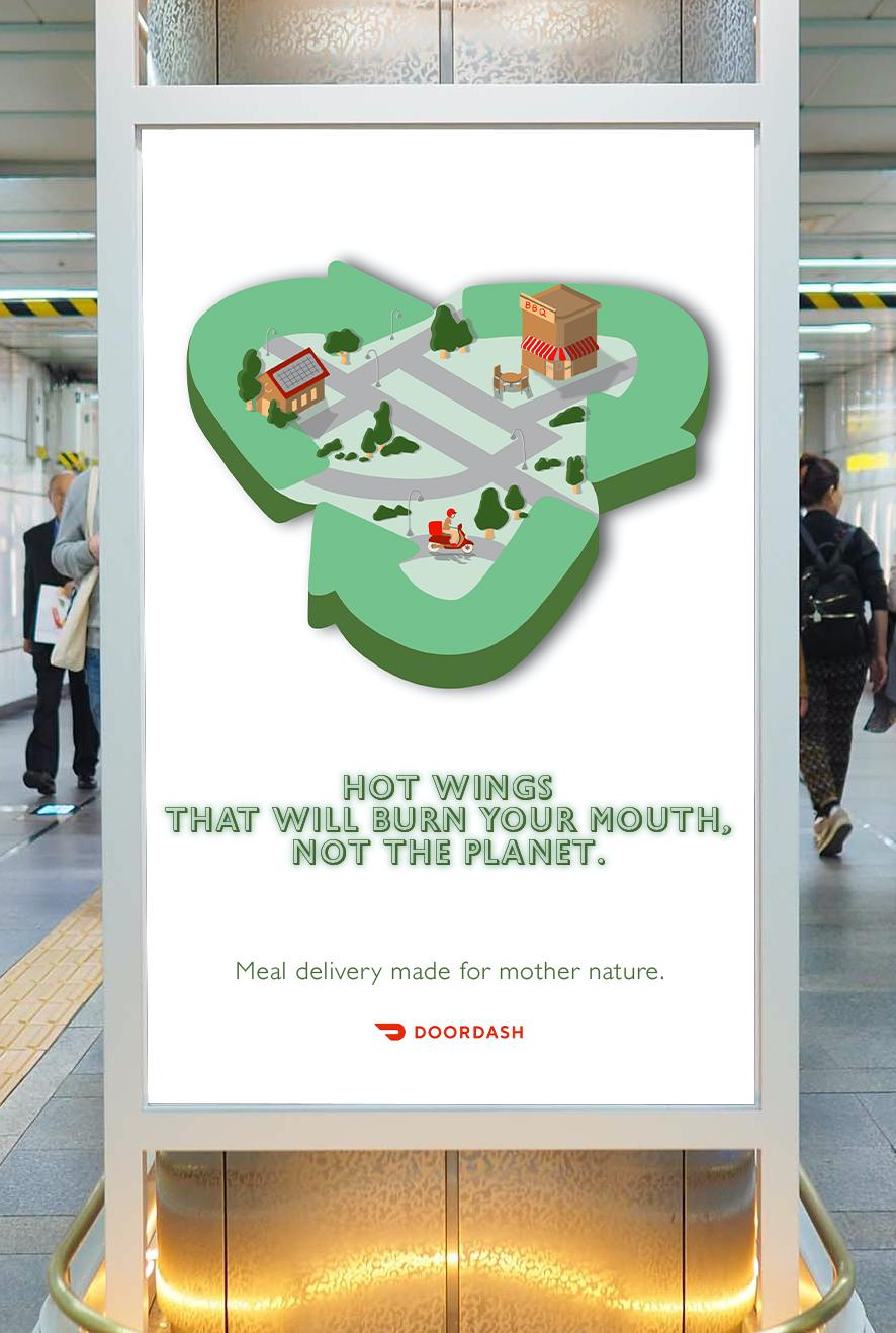 doordash_subway_poster_mockup
