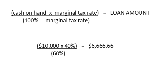Calculation for RRSP Strategy