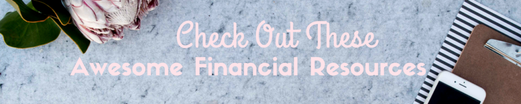 Check out these awesome financial resources