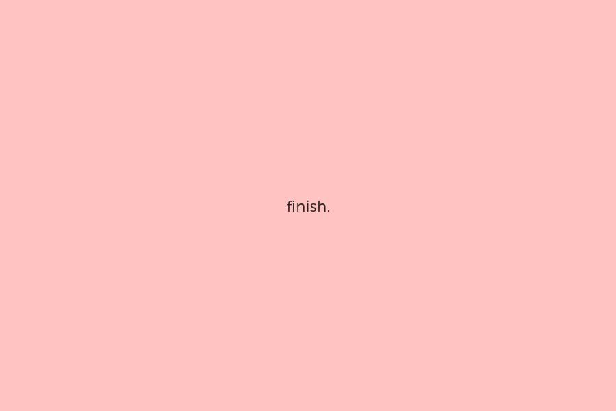 Finish Blog