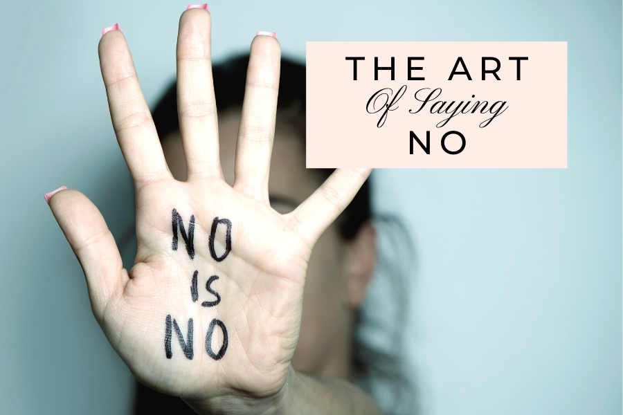 The Art of Saying No by Lisa Elle