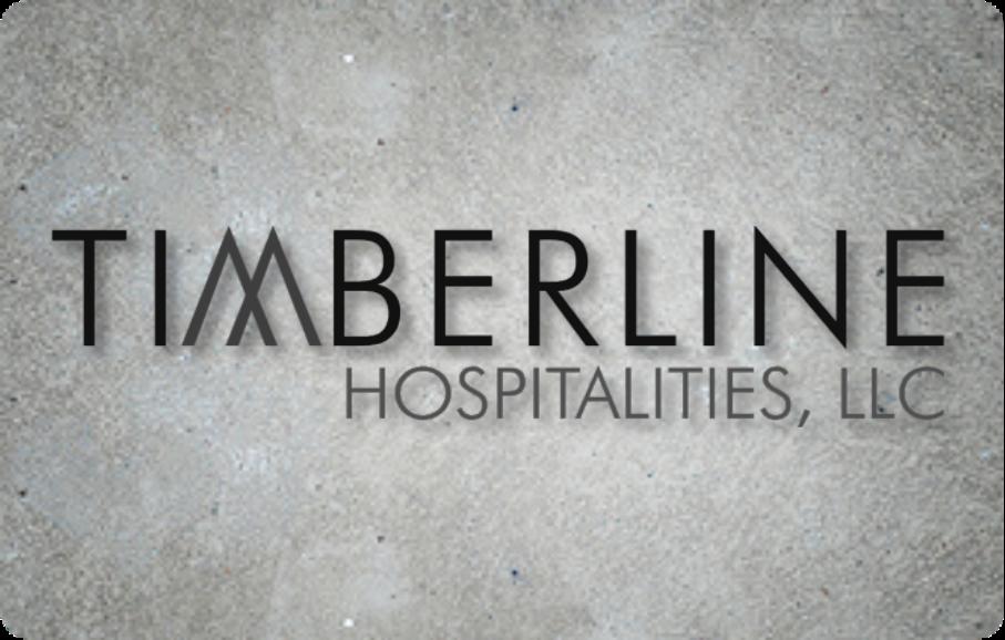 SPONSOR - Timberline Hospitalities