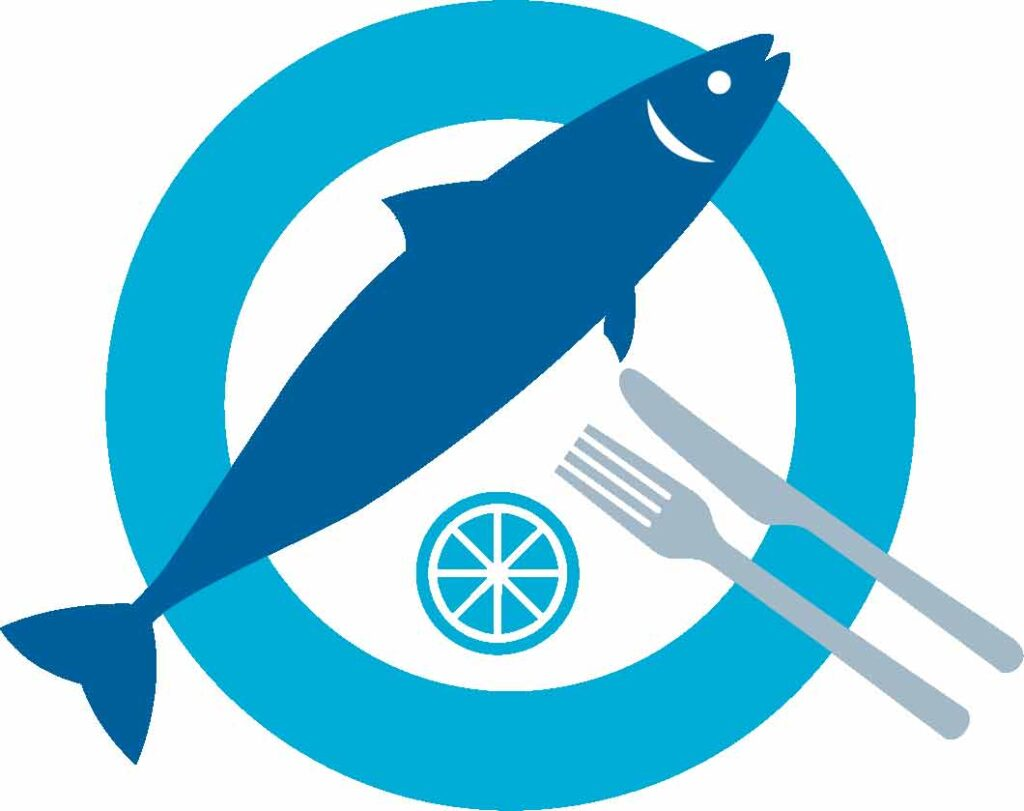 call for fish logo