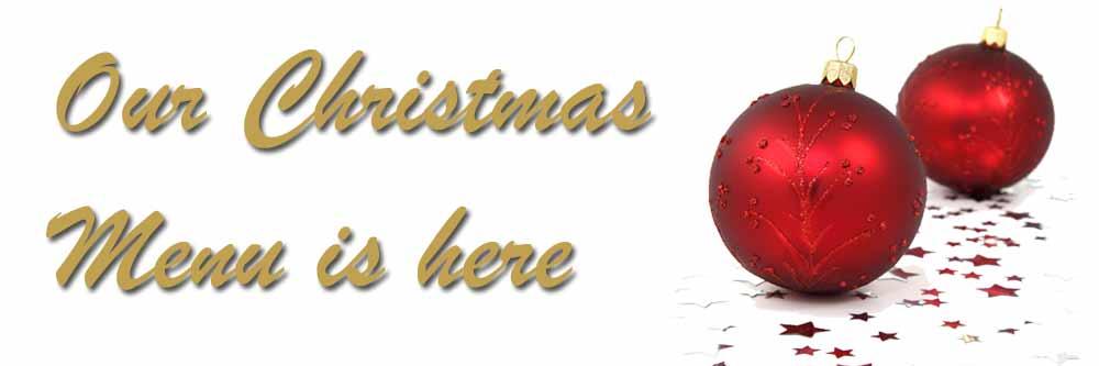 christmas menu is here