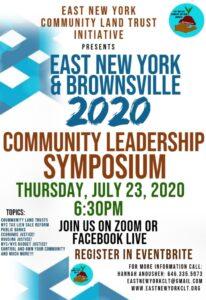 East New York & Brownsville Community Leadership Symposium