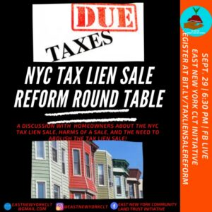Tax Lien Round Table