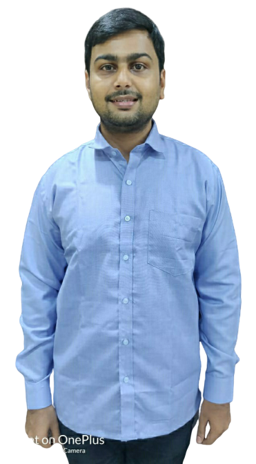 Corporate Blue Shirt - Poly Cotton - Full sleeves