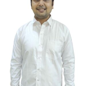 Corporate White Shirt - Poly Cotton - Full sleeves - Code Oxford 002