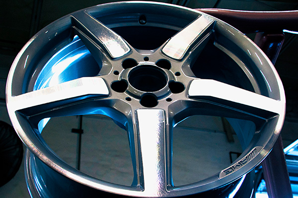 Wheels Doctor Powder Coating: superior scratch, impact, and chemical resistance