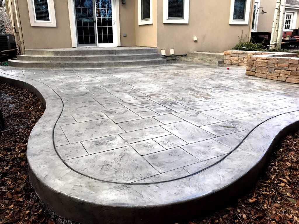 Stamped Concrete Gray