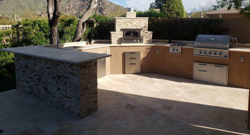 pizza oven outdoor kitchen scottsdale.rvzd