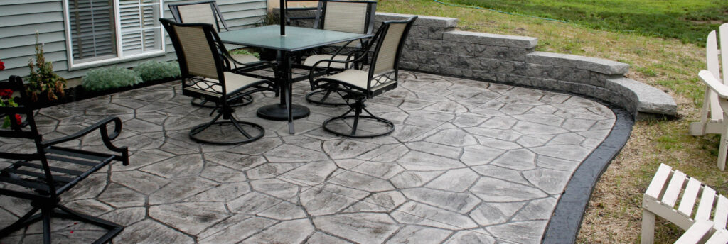 stamped concrete masons pitsford ny
