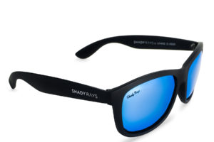 Shady Rays Signature Series Black Glacier Polarized