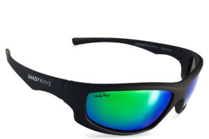 Shady Rays X Series Black Emerald Polarized