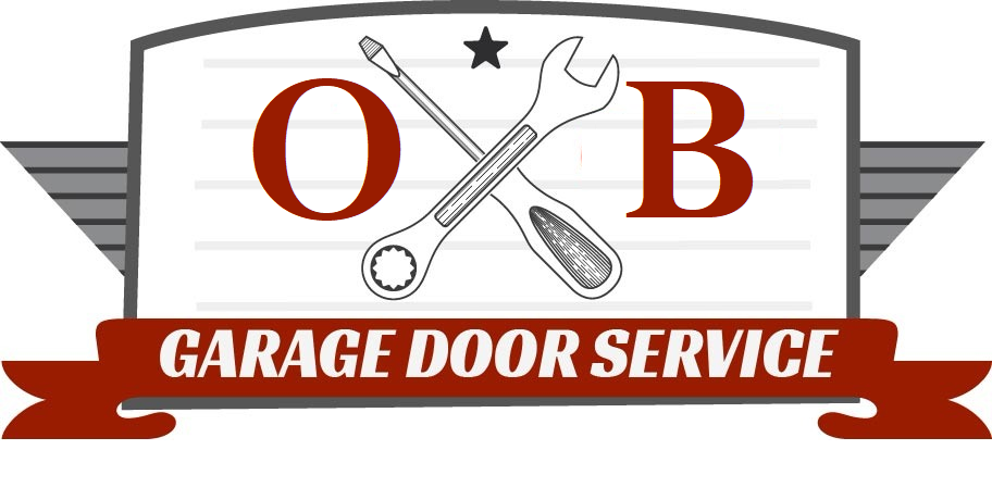 ob garage door service irvine logo