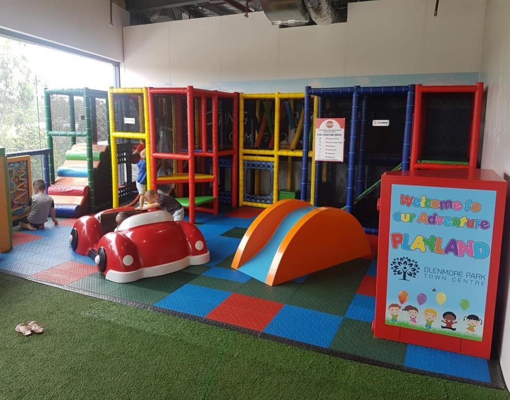 glenmore park town centre play playground cafe family shopping kids whats on