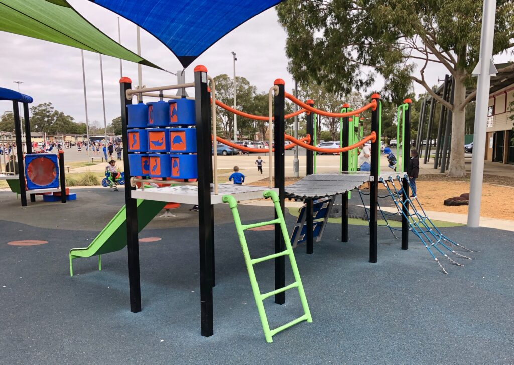 jamison park playground south penrith nepean mums cafe play family
