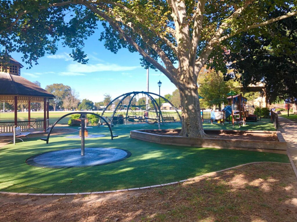 Richmond Park Playground Hawkesbury kids family cafe play
