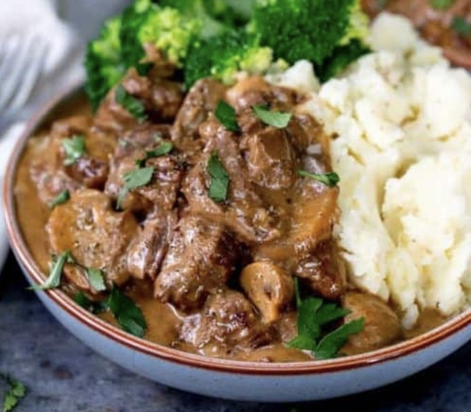 Slow Cooked Steak Diane Casserole – The Perfect Winter Recipe