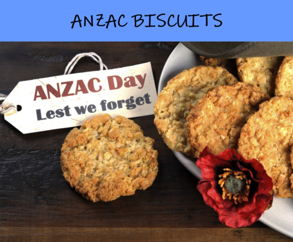 Get Baking! Easy Anzac Biscuits Recipe