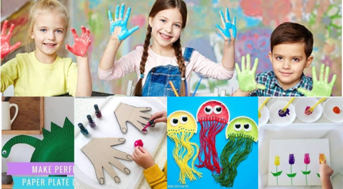 How to get crafty with your kids during isolation